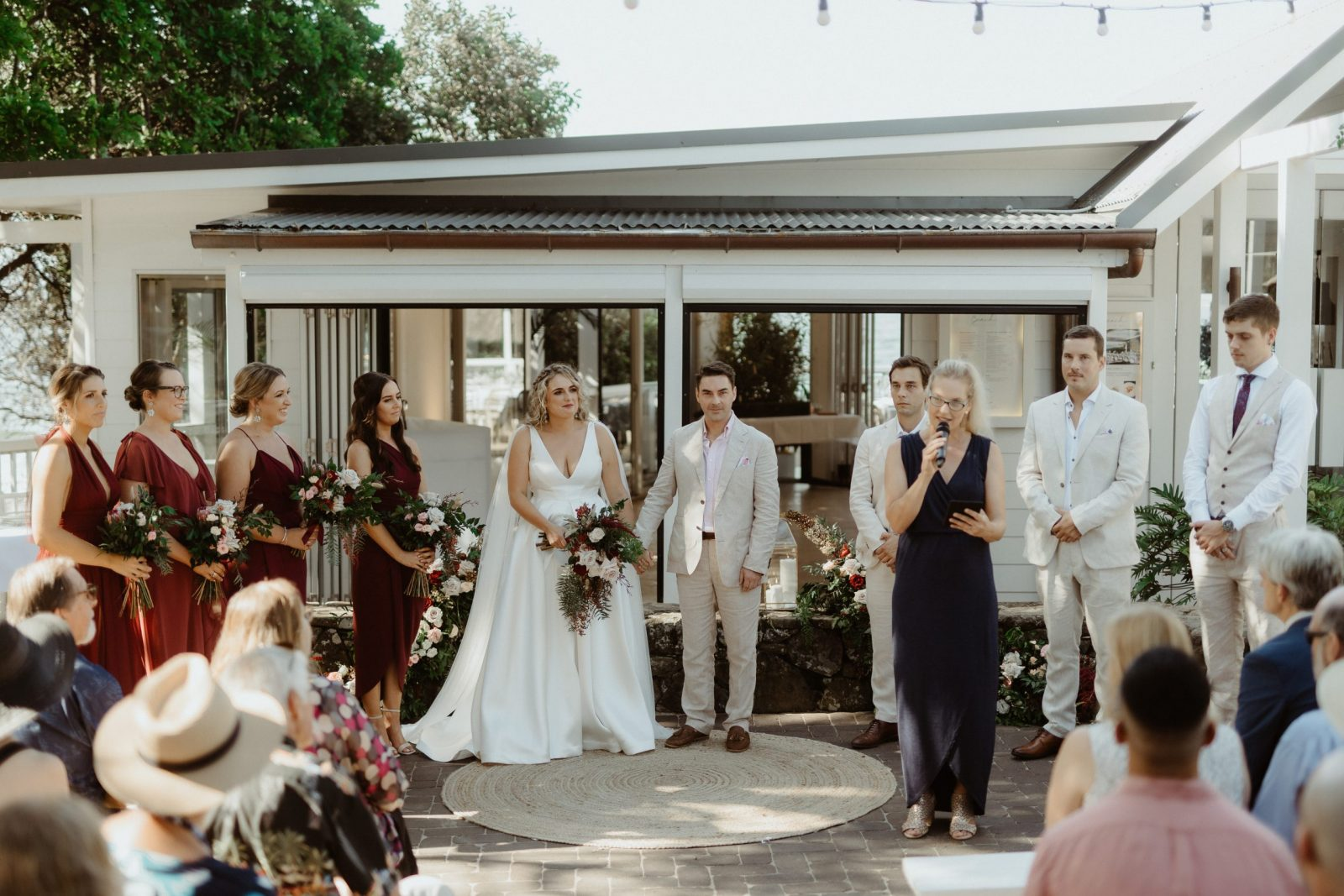 Byron Bay beach wedding